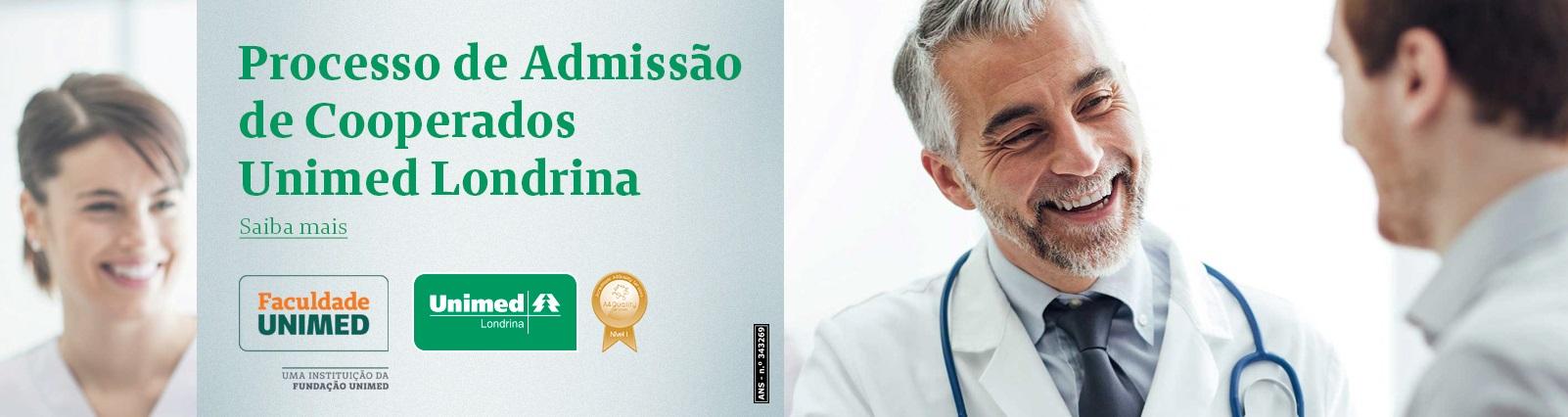 Processo Seletivo Novos Cooperados Unimed Londrina