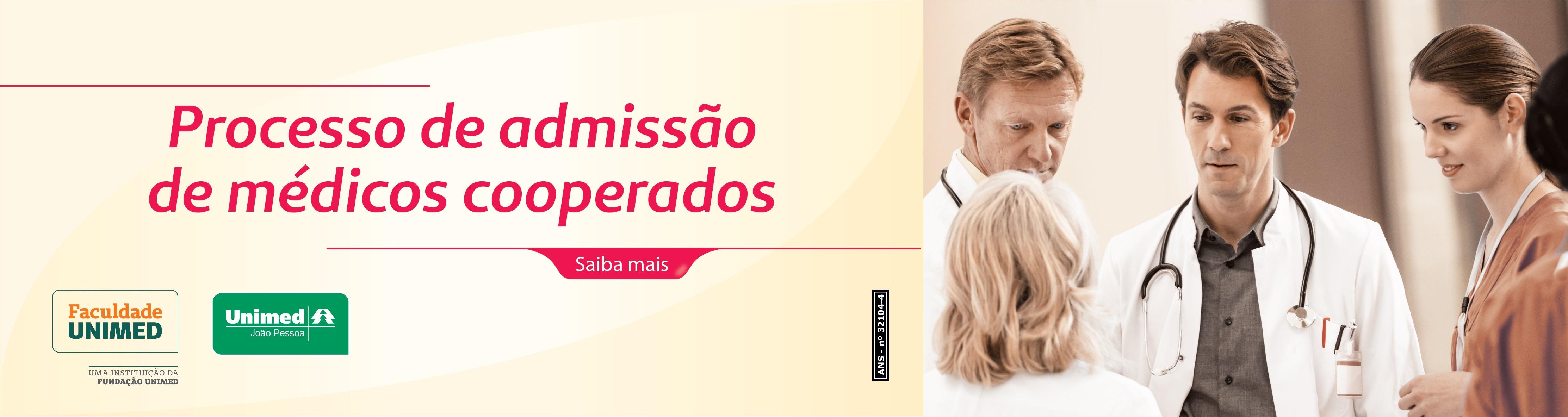 Processo Seletivo Novos Cooperados Unimed João Pessoa