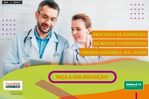 Processo de Admissão de Novos Cooperados - Unimed Regional Sul Goiás
