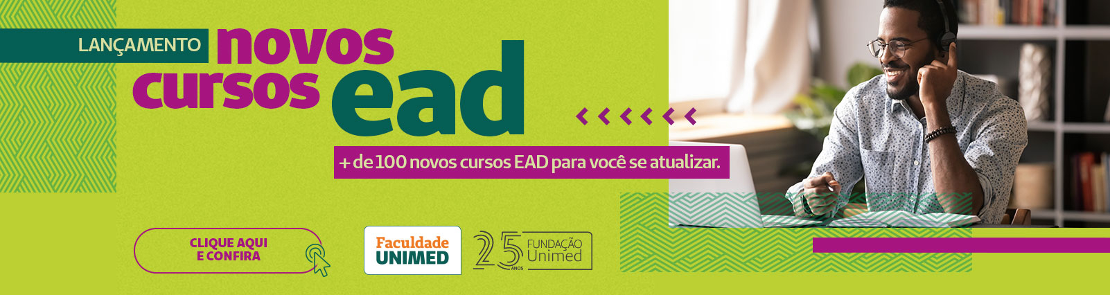 Lançamentos novos cursos EAD