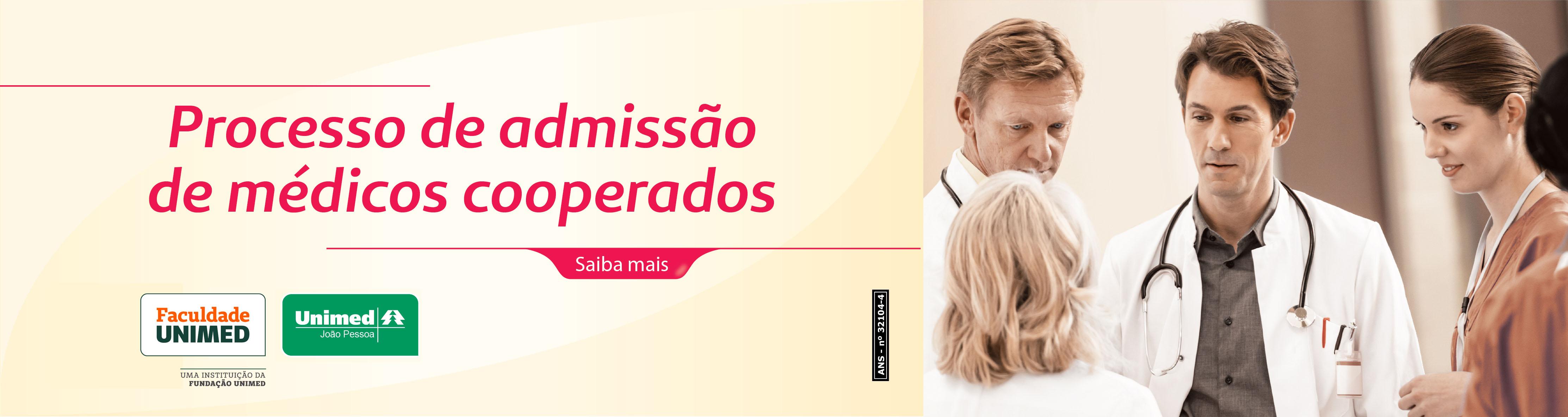 Seleção Pública para Filiação de Novos Médicos Cooperados - Unimed João Pessoa