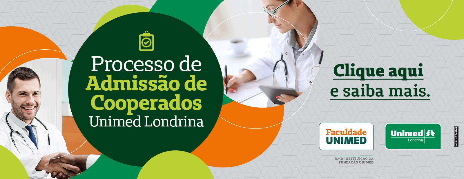 Seleção Pública para Filiação de Novos Médicos Cooperados - Unimed Londrina 2020/2021