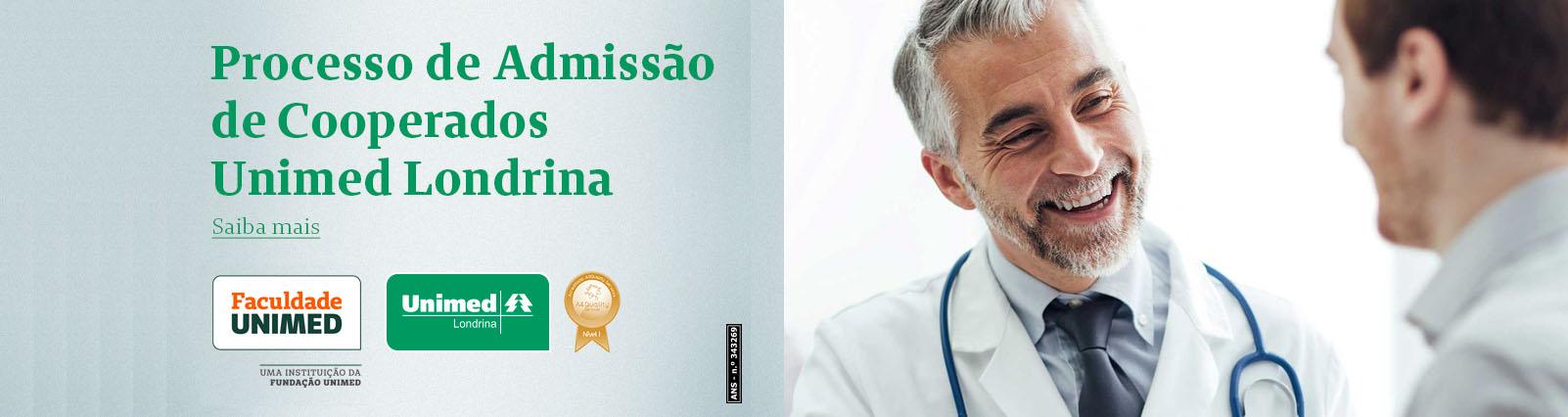 Seleção Pública para Filiação de Novos Médicos Cooperados - Unimed Londrina