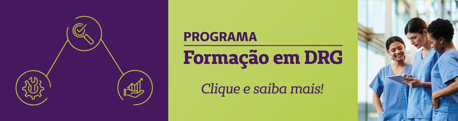 Programa Formação em DRG