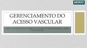 Gerenciamento do acesso vascular : Uma estratégia para elevar a segurança dos pacientes