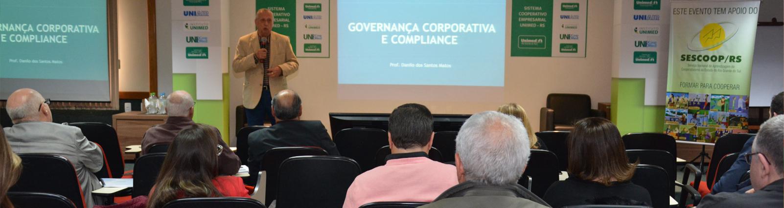 Dirigentes gaúchos participam de capacitação sobre governança e compliance