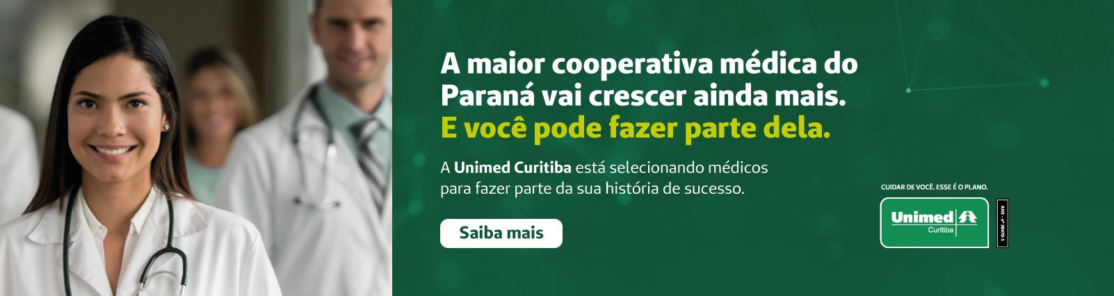 Seleção Pública para Filiação de Médicos Cooperados – Unimed Curitiba